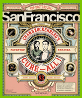 San Francisco Magazine Cover